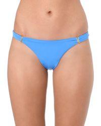 Melissa Odabash Bikini Briefs Blue - Lyst