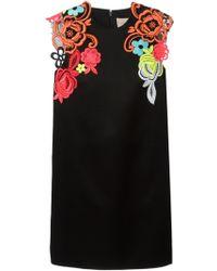 Christopher Kane Decades Floral Dress - Lyst