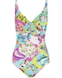 Maryan Mehlhorn Paradiso Bar Swimsuit - Lyst