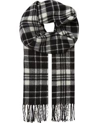 Sandro Wool and Cashmere Scarf - Lyst