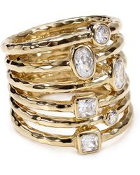 Melinda Maria - Stacked Monroe Ring - Lyst