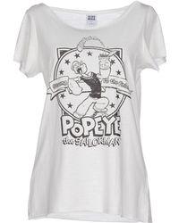 Vero Moda T-Shirt white - Lyst