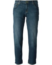 Michael by Michael Kors Angel Cropped Jeans - Lyst