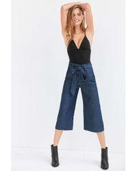Cooperative - Naomi Cropped Tie-waist Pant - Lyst