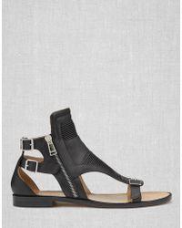 Belstaff - Halton Flat Sandals - Lyst