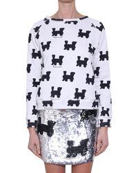 Au Jour Le Jour Sushi Print Sweatshirt black - Lyst