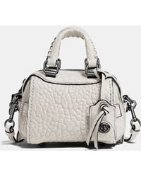COACH | Ace Satchel 14 In Glovetanned Leather | Lyst