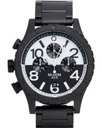 Nixon 48-20 Chrono Watch - Lyst