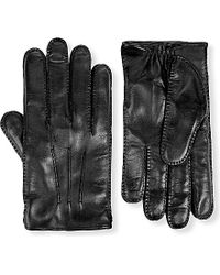 Brioni - Cashmere-lined Leather Gloves - Lyst