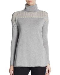 Catherine Catherine Malandrino Barlow Turtleneck Sweater - Lyst