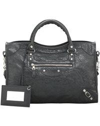 Balenciaga Giant 12 Nickel City Bag - Lyst