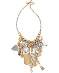 Marc By Marc Jacobs - Heavy Metal Statement Necklace - Oro Multi - Lyst