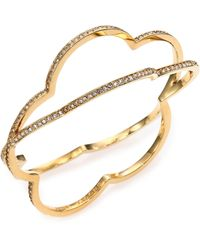 Marc By Marc Jacobs Revolving Daisy Bangle Bracelet - Lyst