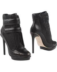 BCBGMAXAZRIA - High-Heel Platform Ankle Boots - Lyst