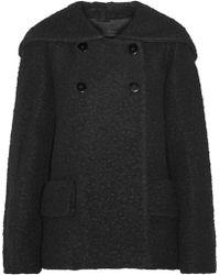 Jill Stuart Diane Hooded Wool-Blend Coat - Lyst