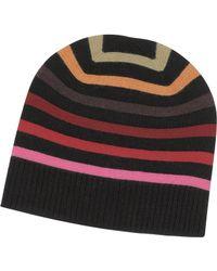 Sonia Rykiel - Multico Cardinal Stripes Wool Women'S Hat - Lyst