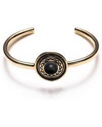Pamela Love Solar Bracelet In Brass - Lyst