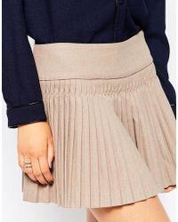 See U Soon - Pleated Mini Skirt - Lyst