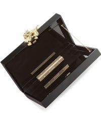 Charlotte Olympia Pandora Dragon Box Clutch - Lyst
