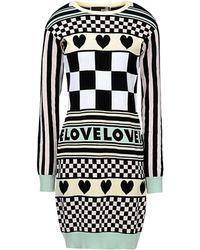 Love Moschino Short Dress - Lyst
