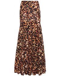 Roberto Cavalli Printed Skirt - Lyst