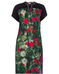 Paul Smith Spring Flowers Print Jersey Dress - Lyst