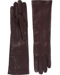 Barneys New York | Cashmere-Lined Long Gloves | Lyst