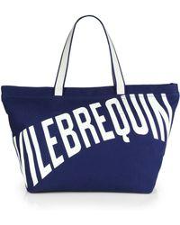 Vilebrequin - Large Logo Beach Tote - Lyst