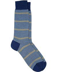 Barneys New York | Mixed-stripe Mid-calf Socks | Lyst