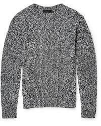 Calvin Klein Gabriel Mã©Lange Cotton And Cashmere-Blend Sweater - Lyst