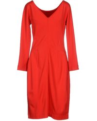 Weekend by Maxmara Knee-Length Dress - Lyst
