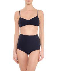 Rachel Comey Revival Basketweave Bikini Top - Lyst
