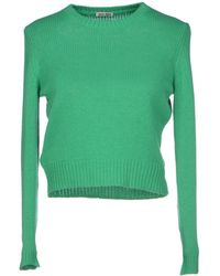 Miu Miu Green Sweater - Lyst