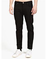 Acne Studios Men'S Black Town 'Stay Cash' Jeans - Lyst