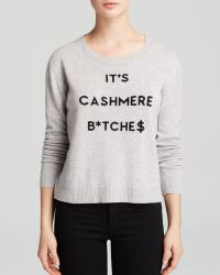 Milly Sweater - Cashmere Graphic Intarsia - Lyst