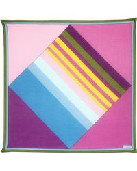 Contileoni - Limited Edition Cotton Silk Foulard - Lyst