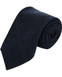 Luciano Barbera - Men's Plaid Flannel Neck Tie - Lyst