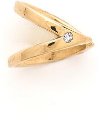 Campbell | Small Ear Cuff - Gold | Lyst