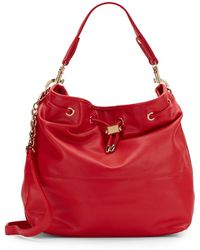 Deux Lux Ally Faux Leather Hobo Bag - Lyst