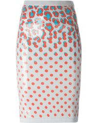 Sibling - Sequinned Straight Skirt - Lyst