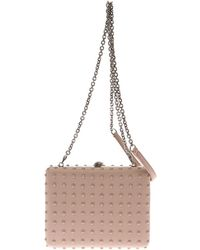 Alexander McQueen Book Studded Leather Box Clutch - Lyst