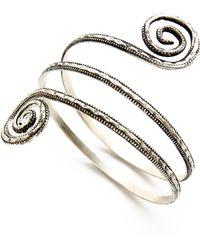 Raga - Tribal Armband - Silver - Lyst