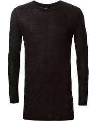 Silent - Damir Doma - 'Tsolma' Longsleeved T-Shirt - Lyst