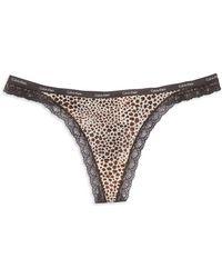 Calvin Klein Bottoms Up Thong - Lyst