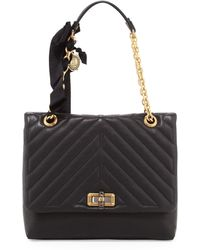 Lanvin Happy Medium Quilt-Flap Shoulder Bag - Lyst