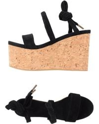 Isabel Marant Sandals black - Lyst