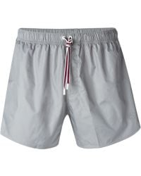 Gucci Guccissima Swim Shorts gray - Lyst