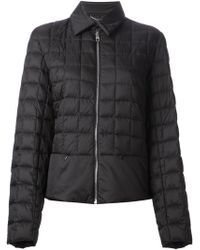 Ferragamo Quilted Padded Jacket - Lyst