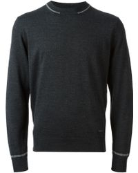 Armani Crew Neck Sweater - Lyst