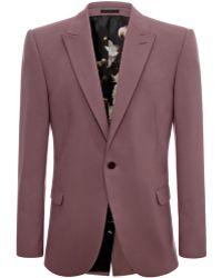 Alexander McQueen Shoulder Jacket - Lyst